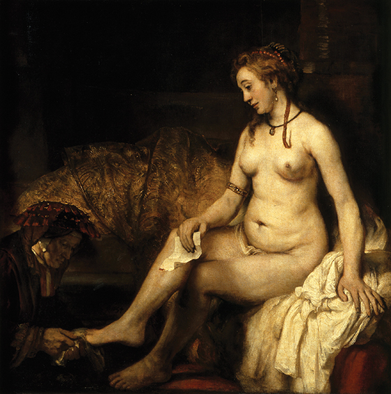 Bathsheba with King David's Letter, by Rembrandt van Rijn (1606–1669) | The Christian Century